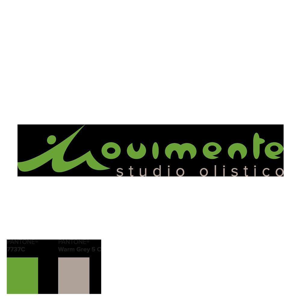 """Il logo definitivo di Movimente, con la tipica """"M"""" antropomorfizzata e il colore pantone verde di riferimento"""