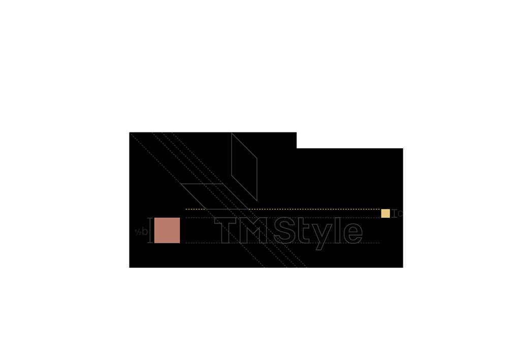 fase progettuale 6. Il logo va a comporsi poi di una seconda versione, più squadrata, per un utilizzo social