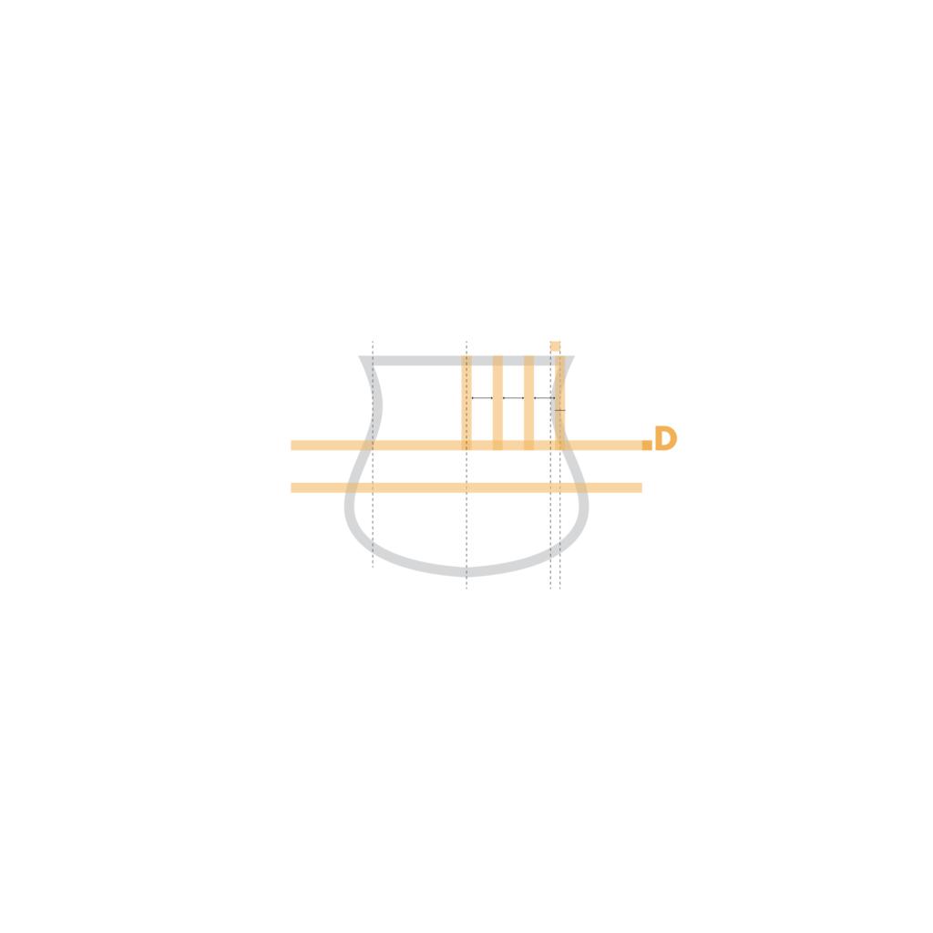 sassuolo logo restyling, le striature superiori. Molto più sottili rispetto alle originali, le strisce neroverdi nella sona superiore del marchio hanno un'eleganza di fondo molto più raffinata rispetto alle precedenti, più spesse e sgraziate.