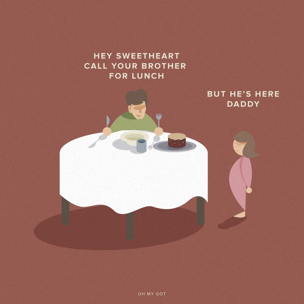 Oh my GOT, life after Game of Thrones. Quando cerchi tuo figlio per il pranzo ma rischi di trovartelo dentro al pasticcio di carne.